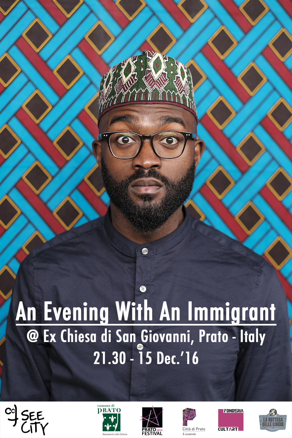 evening with immigrant inglese prato