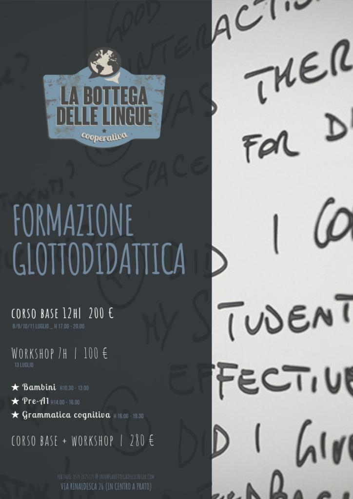 formazione glottodidattica 2019 prato
